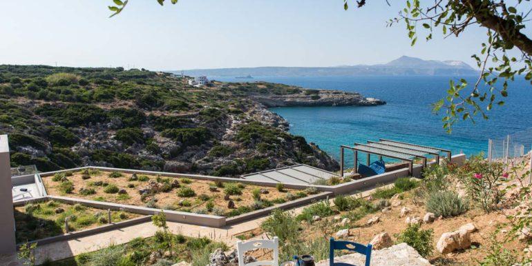 rental villa Chania greek terrace 3