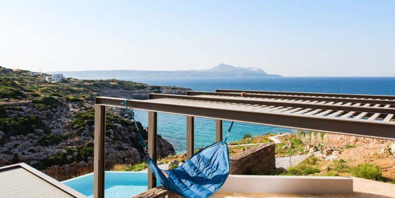 rental villa Chania hammoc terrace5