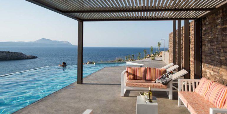 rental villa Chania main terrace 2-2