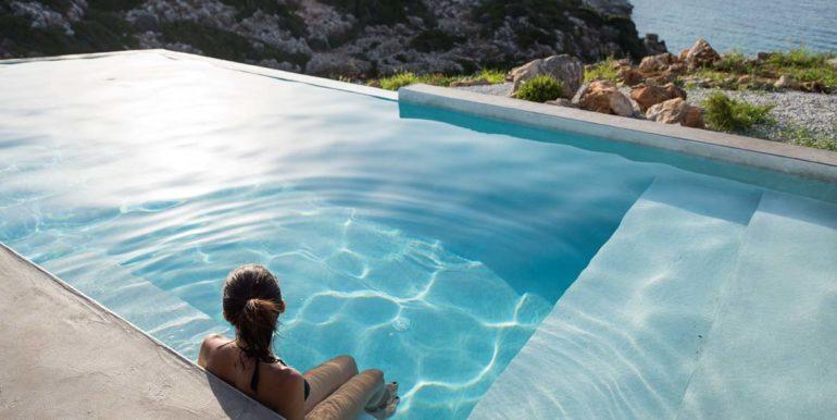rental villa Chania pool 15