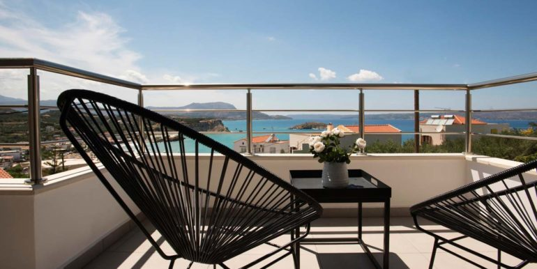 Villa Karga balcony view