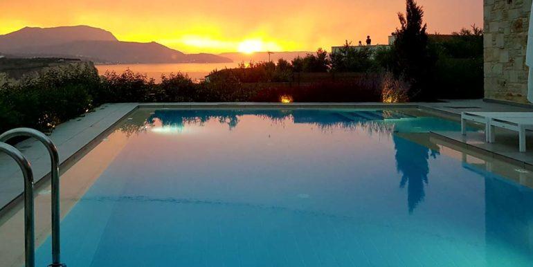 Villa Karga sunset by the pool_3
